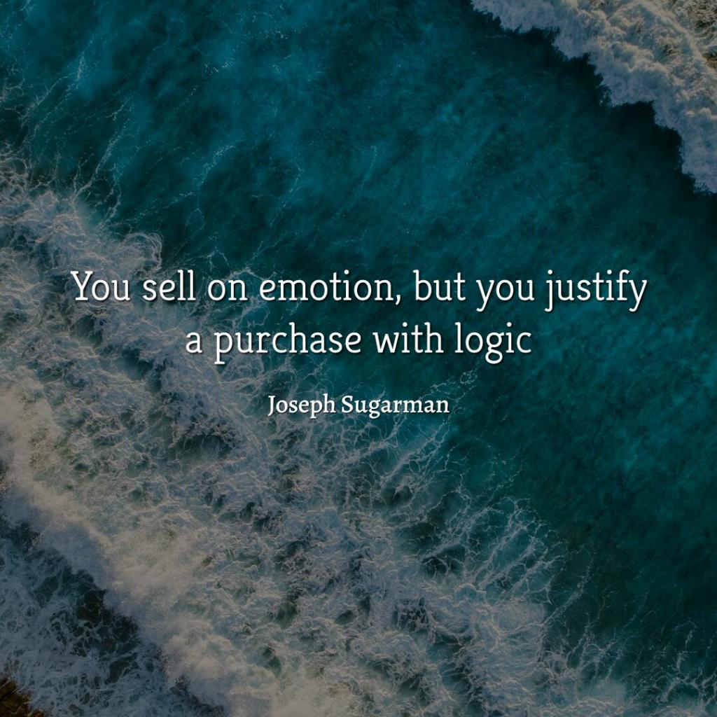 joseph sugarman copywriting quote