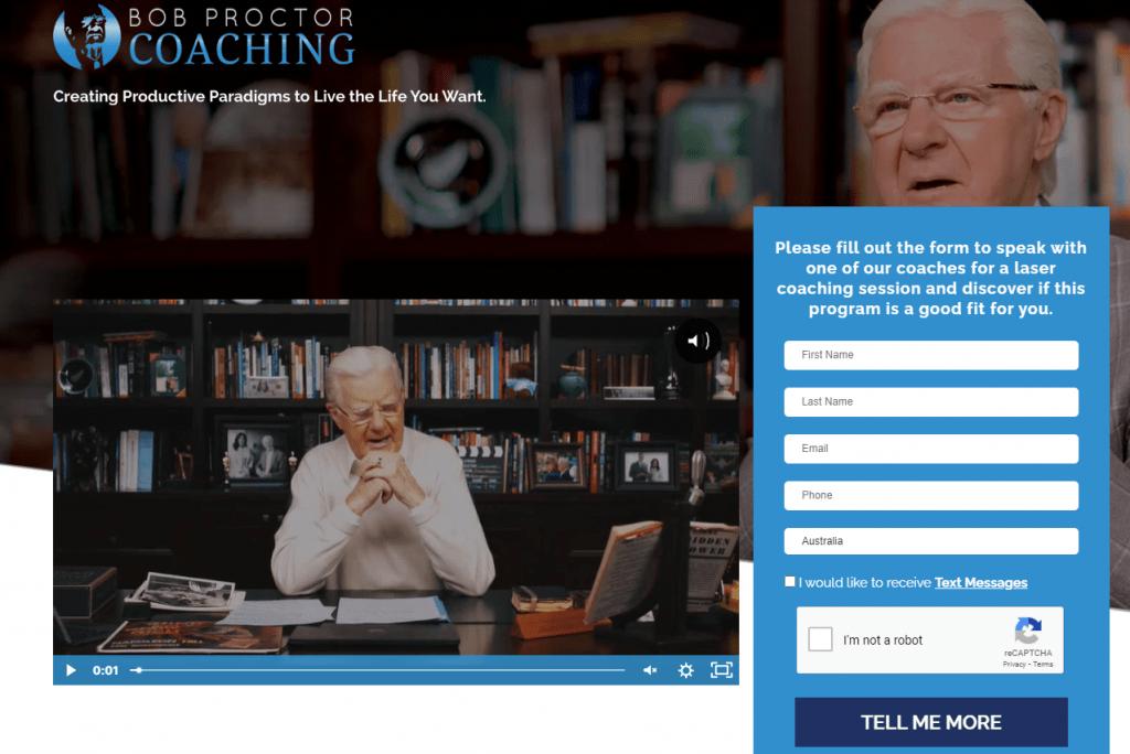 life coach website marketing